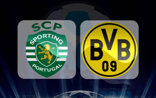 Спортинг Лиссабон - Боруссия Дортмунд 18 октября 2016 года