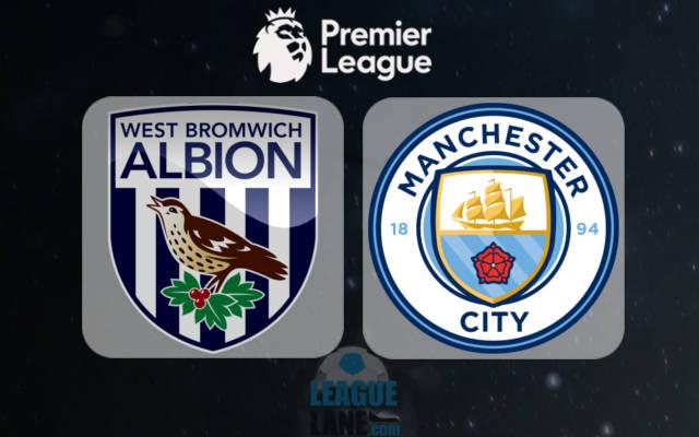 Вест Бромвич - Манчестер Сити 29 октября 2016 года