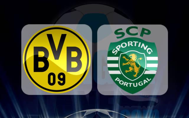 Боруссия Дортмунд - Спортинг Лиссабон 1 ноября 2016 года