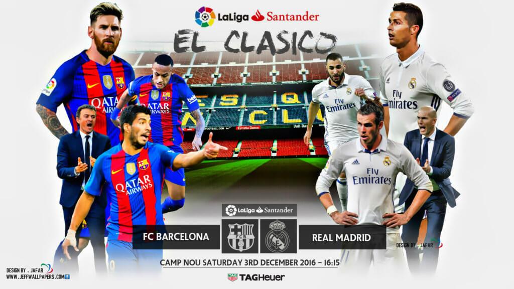 Барселона - Реал Мадрид 3 декабря 2016 года