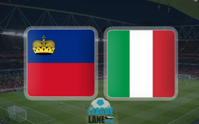Лихтенштейн – Италия 12 ноября 2016 года