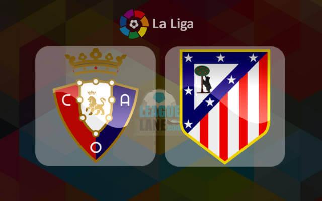 Осасуна - Атлетико Мадрид 27 ноября 2016 года