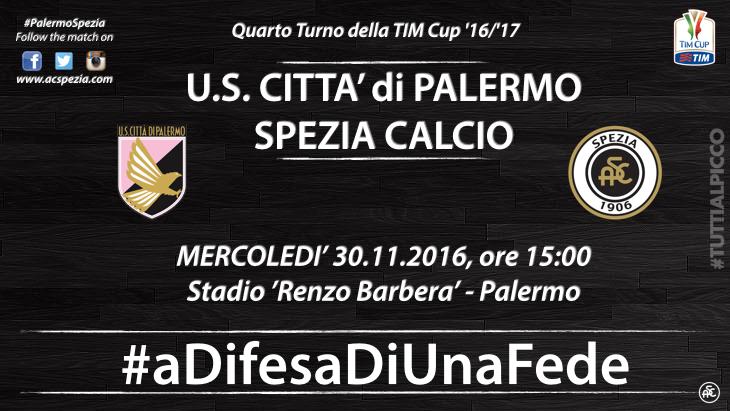 Палермо - Специя 30 ноября 2016 года