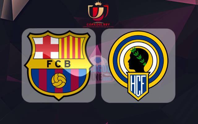 Барселона - Эркулес 21 декабря