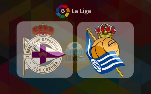 Матч чемпионата Испании Депортиво Ла-Корунья - Реал Сосьедад 5 декабря 2016 года