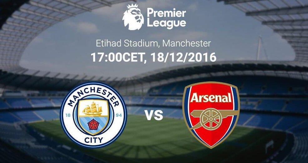 Манчестер сити арсенал 18 декабря 2016 трансляция