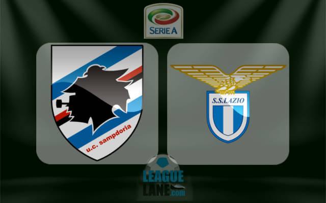 Сампдория - Лацио 1- декабря 2016 года