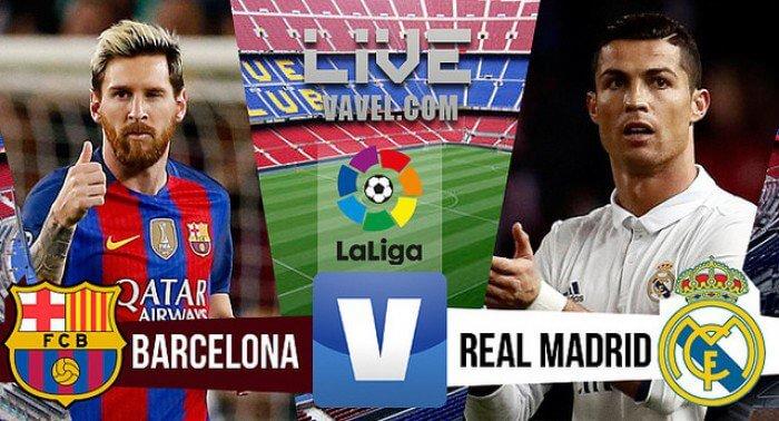 Барселона - Реал Мадрид 3 декабря 2016 года счет матча