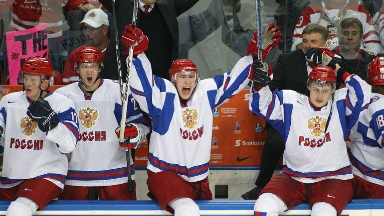 чемпионат Мира молодежка Россия - Словакия 1 января 2017 года