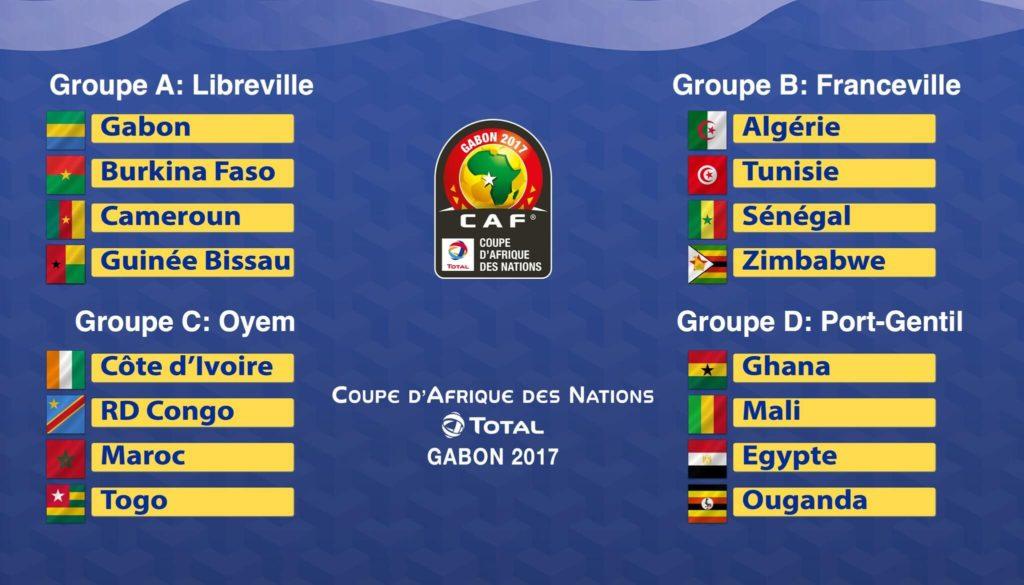 убок африканских наций 2017 расписание игр для ставок