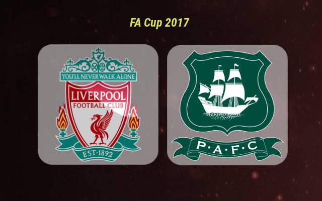Анонс игры Ливерпуль - Плимут Кубок Англии 8 января 2017 года