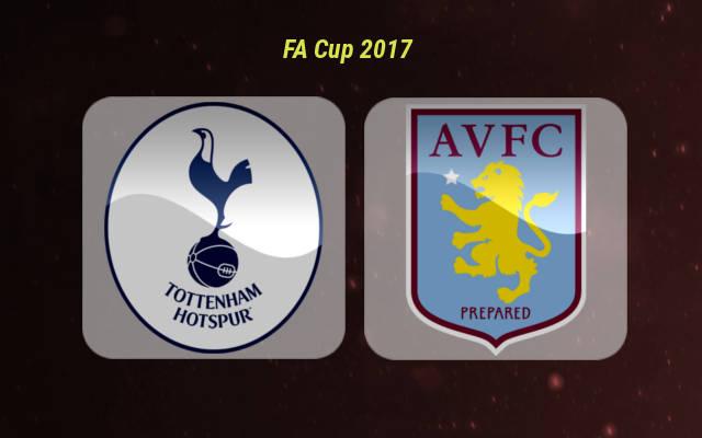 Анонс игры Тоттенхэм - Астон Вилла 8 января 2017 года Кубок Англии