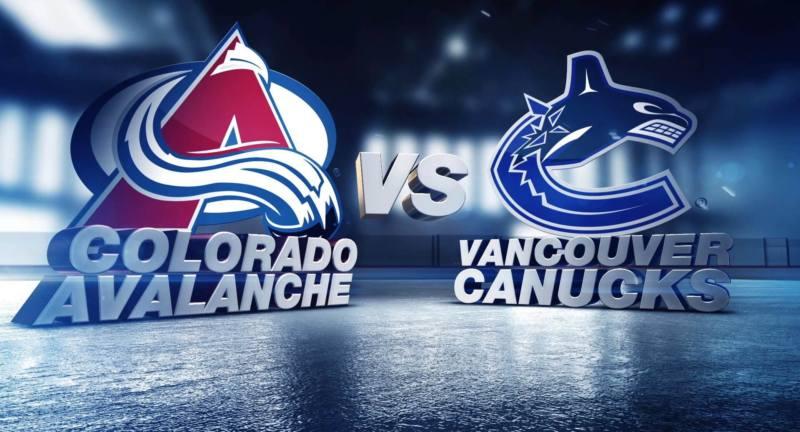 Ванкувер Кэнакс - Колорадо Эвеланш 3 января 2017 года анонс игры