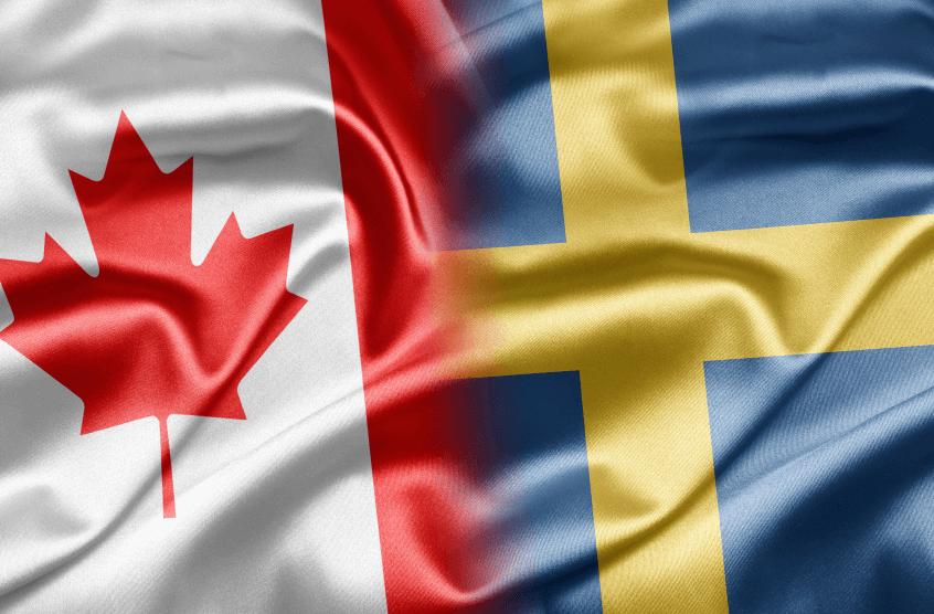 полуфинал Швеция - Канада 5 января 2017 года